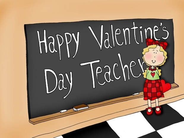 1- المعلمون يحصلون على معظم بطاقات عيد الحب