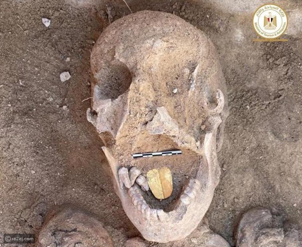 اكتشاف مومياوات في الأسكندرية بألسنة ذهبية