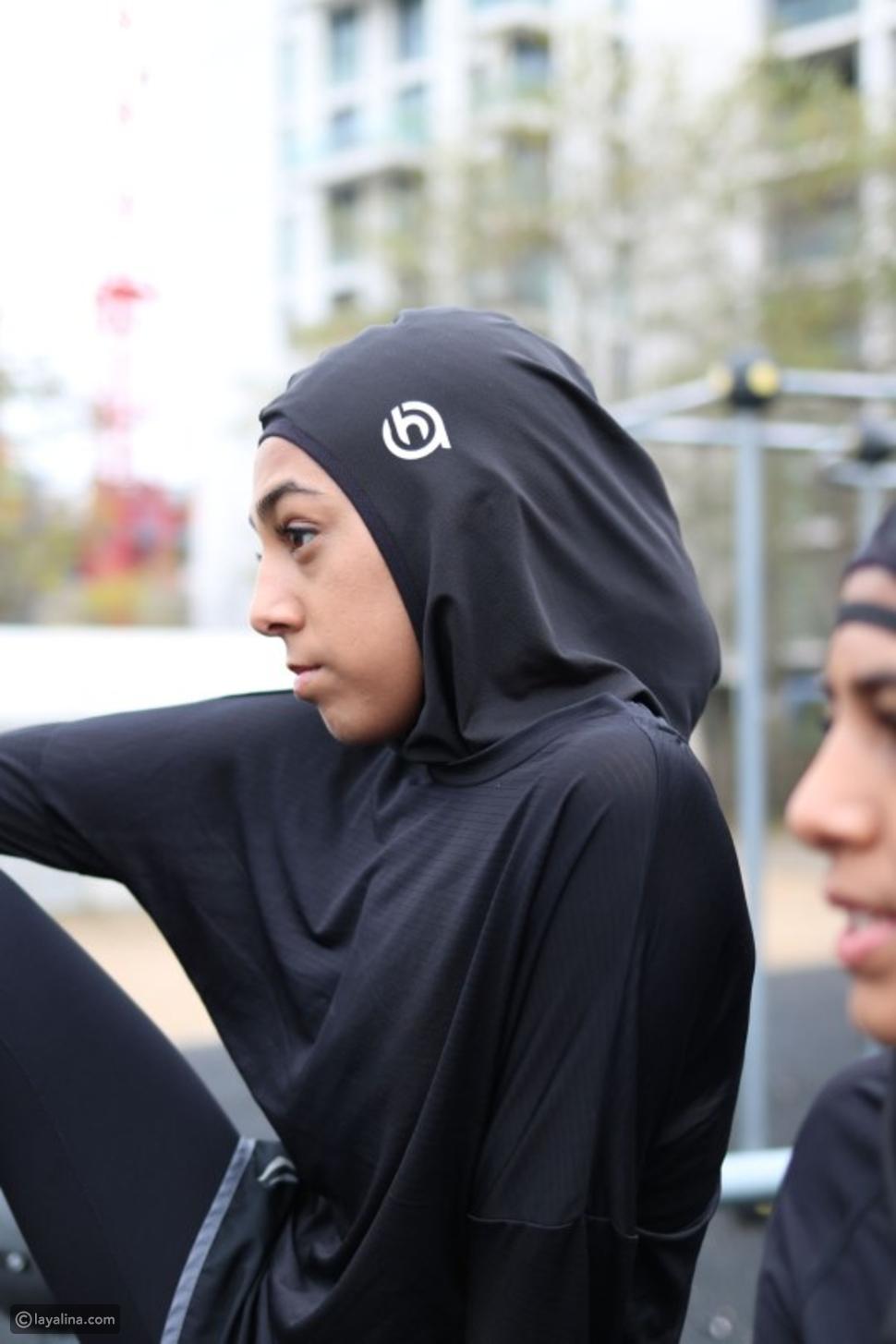 أم تصمم حجاباً رياضياً يمنع رائحة التعرق: وهذه أبرز خصائصه