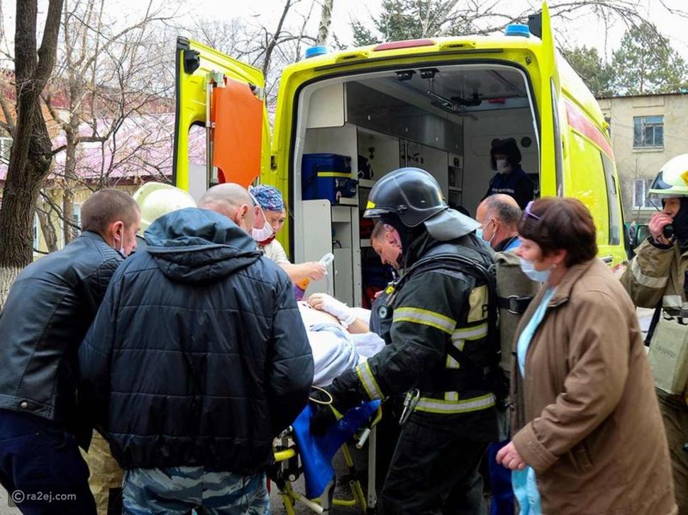 نجاح عملية قلب مفتوح داخل مستشفي تحترق في روسيا