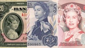 فيديو: هكذا تغيرت ملامح وجه الملكة إليزابيث على العملات الورقية