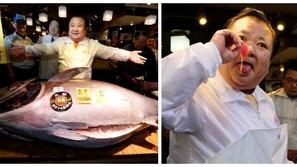 فيديو وصور: الأغلى في العالم.. سمكة تونة بسعر 3 مليون دولار
