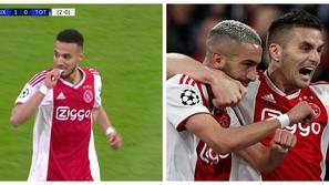 شاهد: إفطار لاعبي المغرب المسلمين في قلب مباراة أياكس وتوتنهام