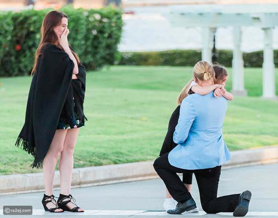 فيديو وصور.. حيلة طفلة لتقنع والدتها بالزواج من هذا الرجل