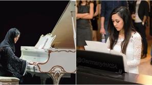 فيديو وصور: بعد عزفها في دافوس.. هذه رحلة إيمان قستى مع البيانو