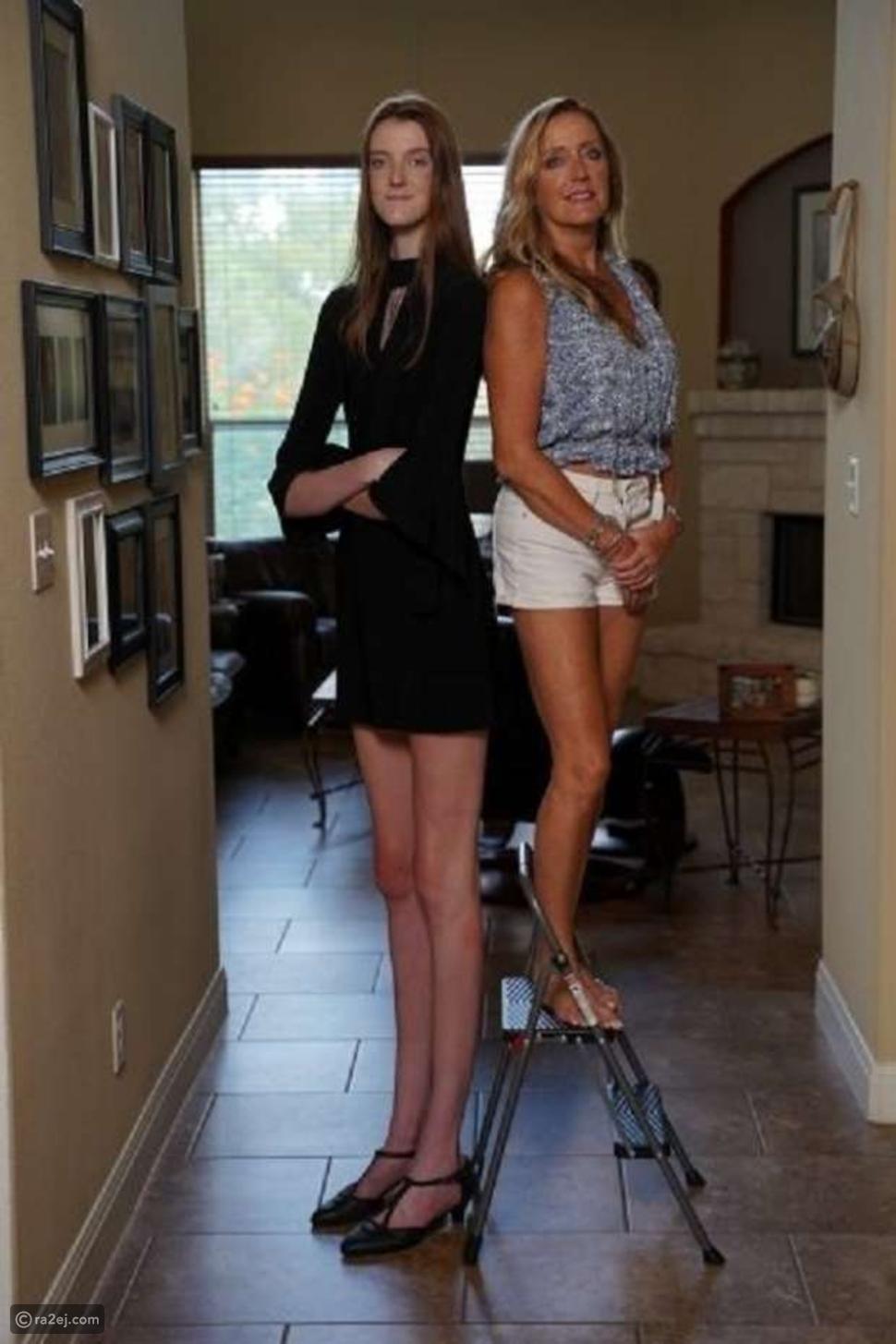 شاهد: فتاة تدخل غينيس بأطول ساقين في العالم