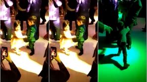 فيديو مضحك: عمره 5 سنوات.. قام بضرب الجميع للفوز برقصة مع هذه الجميلة