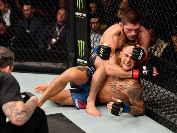 فيديو وصور: بحركة واحدة خطيرة.. هكذا حافظ نورمحمدوف على لقب UFC
