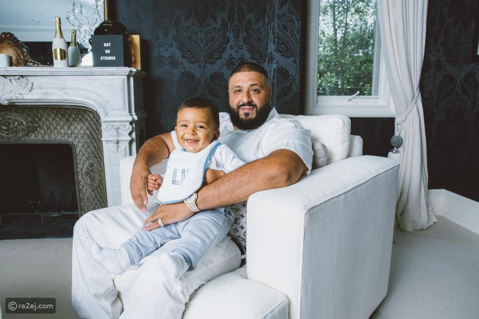 دي جاي خالد وابنه أسد