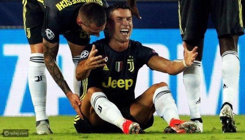 فيديو: لأول مرة منذ 154  مباراة.. لحظة طرد رونالدو من الملعب