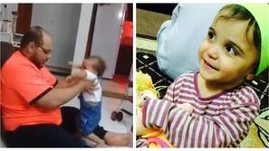 فيديو: هذه العقوبة الصادمة في انتظار الأب معذب طفلته
