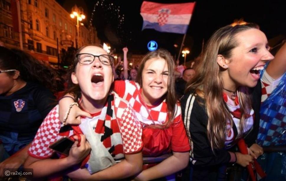 رد فعل جنوني بعد فوز كرواتيا على إنجلترا.. شاهد ما فعله المشجعين