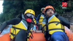 فيديو: شاهد رعب مصطفى حجاج بسبب غوريلا رامز في الشلال وقطع البرنامج