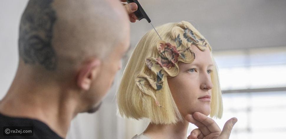 صبغة الشعر موضة قديمة: الآن يمكنك الطباعة على شعرك بالفيديو