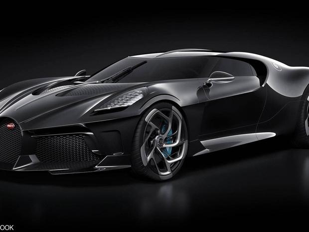 السيارة الجديدة لشركة بوغاتي