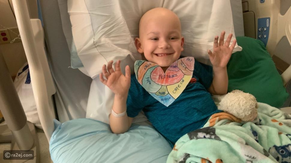 الطفل سوبرمان تمكن من هزيمة السرطان وفيروس كورونا معاً
