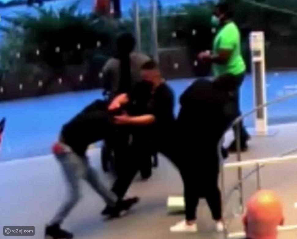 حادث طعن داخل متجر أبل والسبب كمامة! فيديو جديد للمشتبه به
