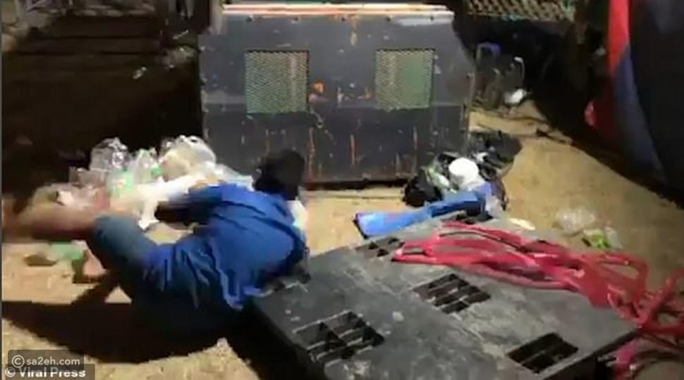 شاهد: خطأ كارثي كاد يحول ملاهي تايلاند لبحر من الدماء