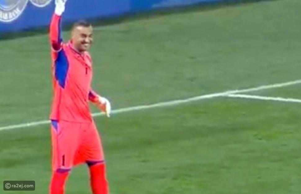 فيديو: هدف خرافي من المرمى إلى المرمى في مباراة الأردن والهند