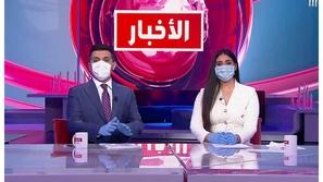 مذيعا MBC بالكمامة على الهواء والسبب إنساني جداً