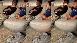فيديو: حوار غامض بين أب وطفله يأسر القلوب ويحقق ملايين المشاهدات