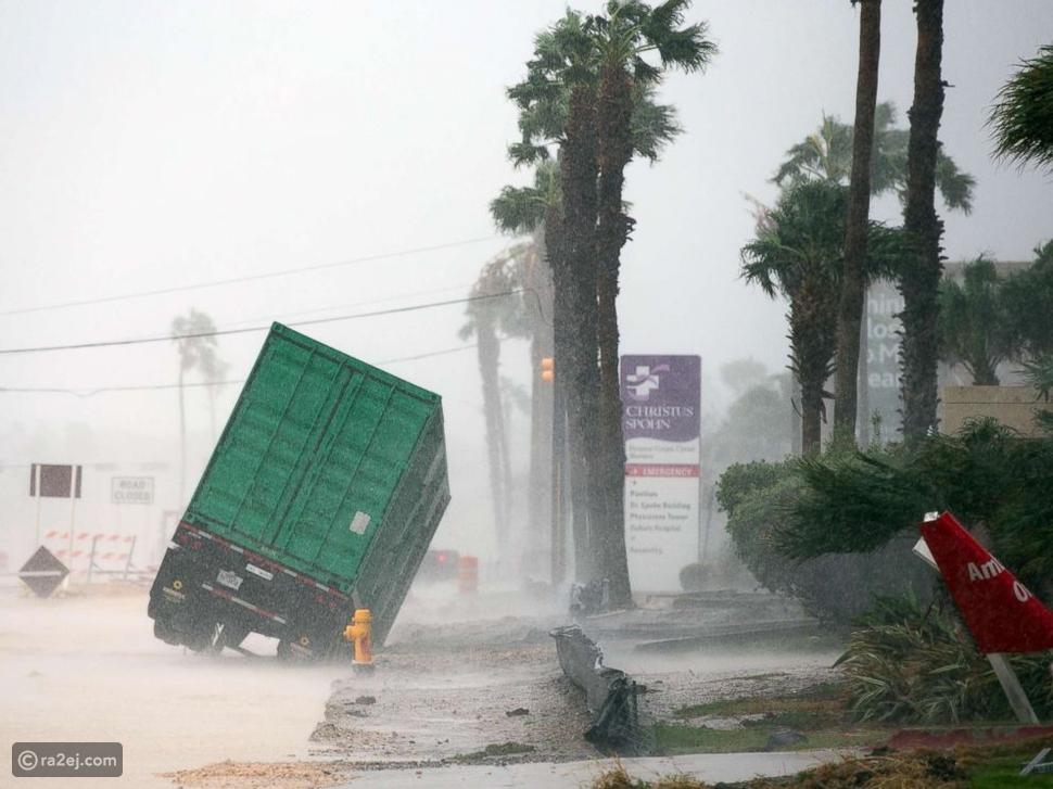 فيديو مفزع: هكذا دمر إعصار هارفي ولاية تكساس الأمريكية