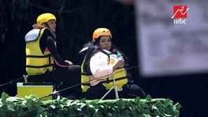 فيديو: سقوط مروع للفنانة شيماء سيف في برنامج رامز في الشلال 😱