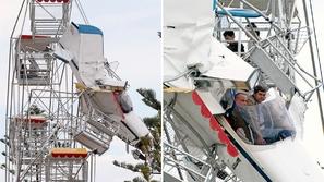 شاهد لحظات من الرعب.. بعد حادث طائرة خطير أطفال ظلوا معلقين في الهواء