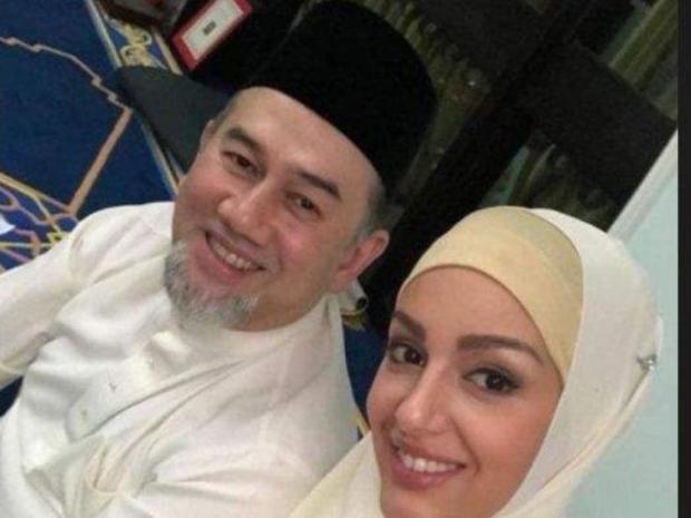 صورة تم تداولها لملكة جمال موسكو بالحجاب